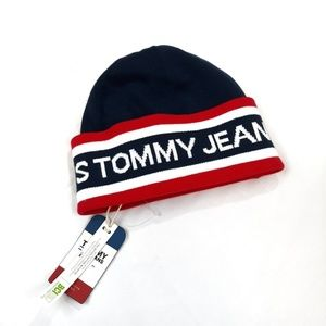Other - Tommy Hilfiger spell out classic logo beanie hat